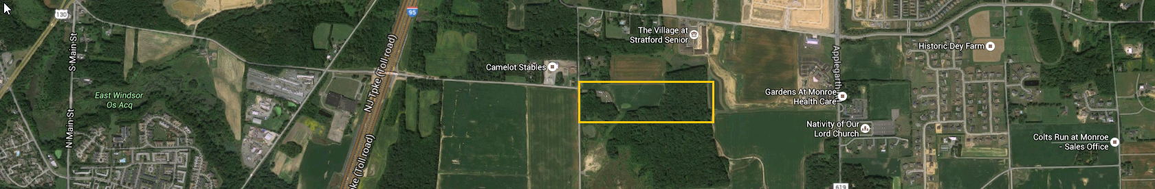 Land Purchase Offer accepted – Wyckoffs Mills Road